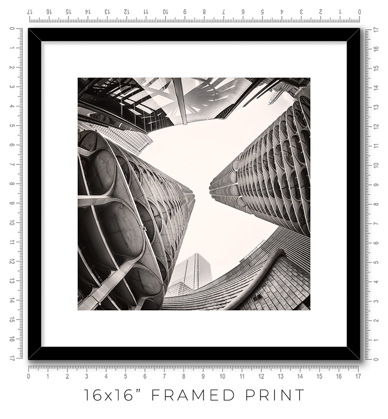 Marina City - Igor Menaker Fine Art Photography