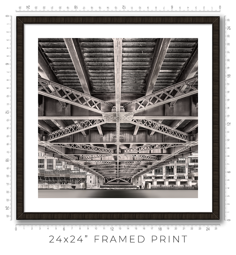 Wells Street Bridge - Igor Menaker Fine Art Photography