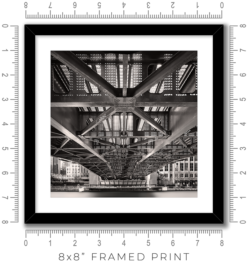 Columbus Drive Bridge - Igor Menaker Fine Art Photography