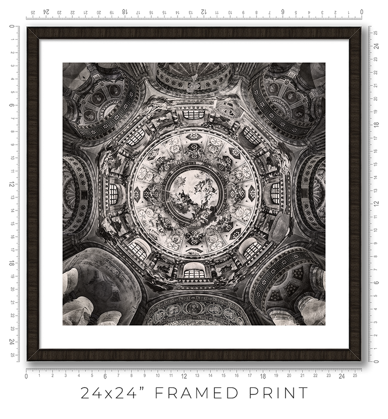 Basilica of San Vitale in Ravenna - Igor Menaker Fine Art Photography