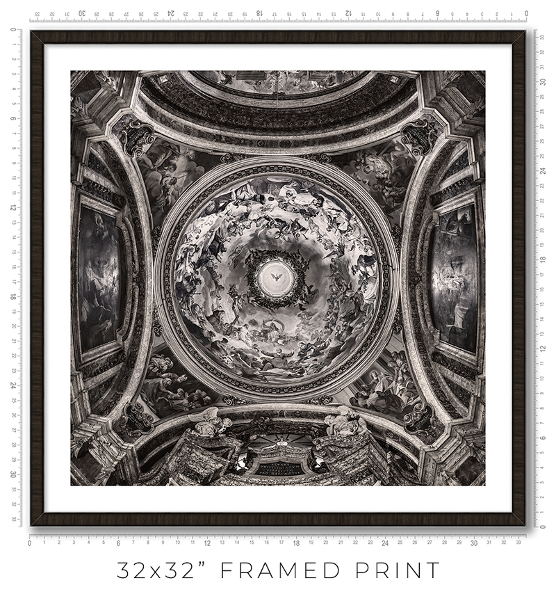 St Ignatius of Loyola in Rome - Igor Menaker Fine Art Photography