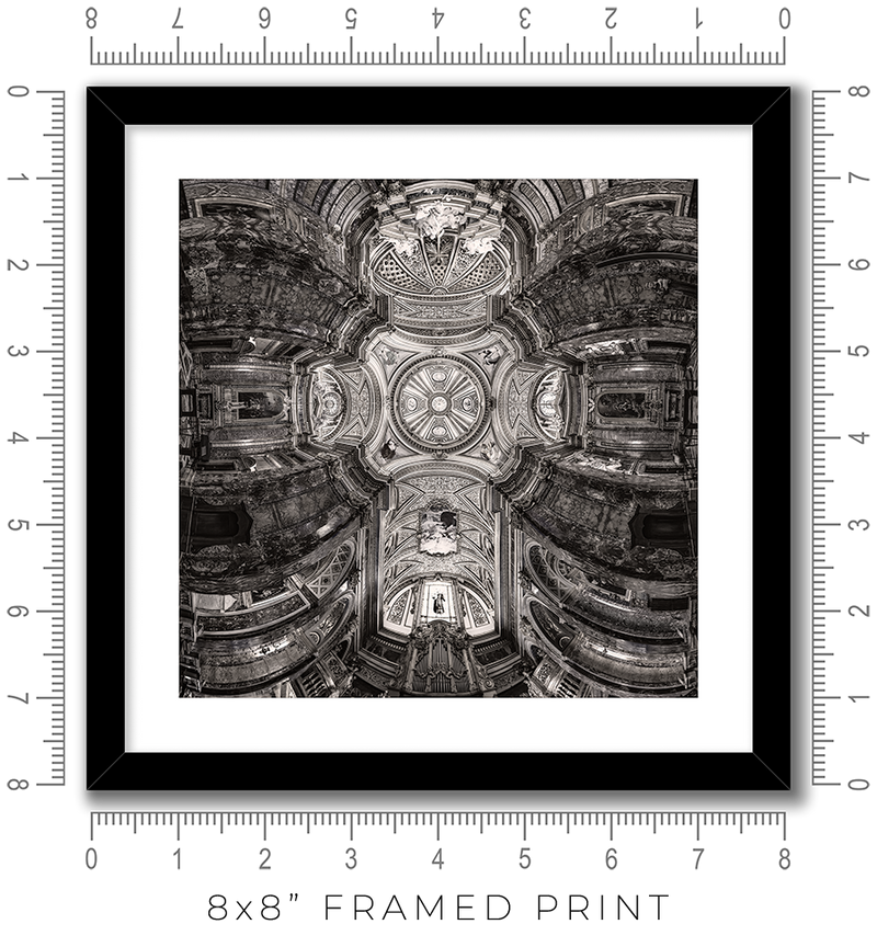 Sant Antonio dei Portoghesi in Rome - Igor Menaker Fine Art Photography