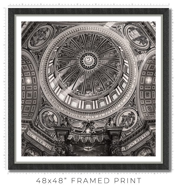St Peter Basilica in Vatican - Igor Menaker Fine Art Photography