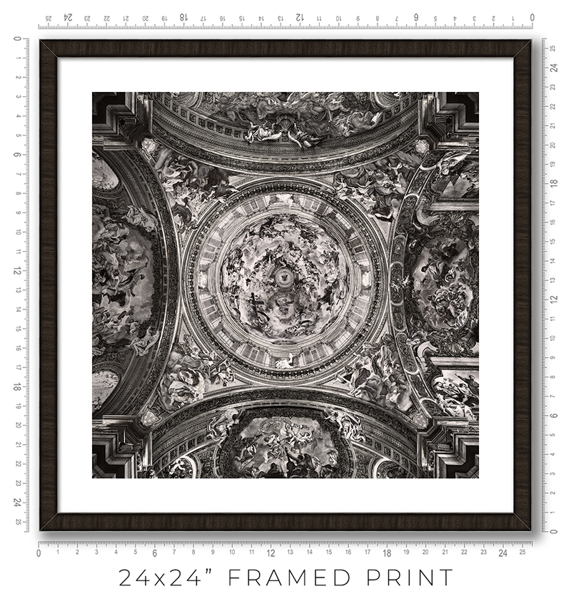Chiesa del Gesu in Rome - Igor Menaker Fine Art Photography