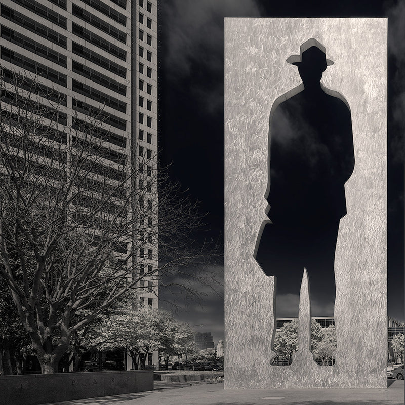 Man with Briefcase - Igor Menaker Fine Art Photography