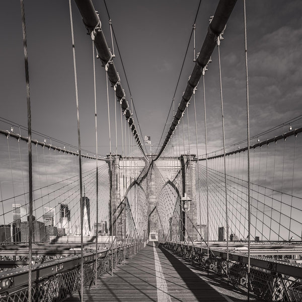 Brooklyn Bridge Tower - Igor Menaker Fine Art Photography