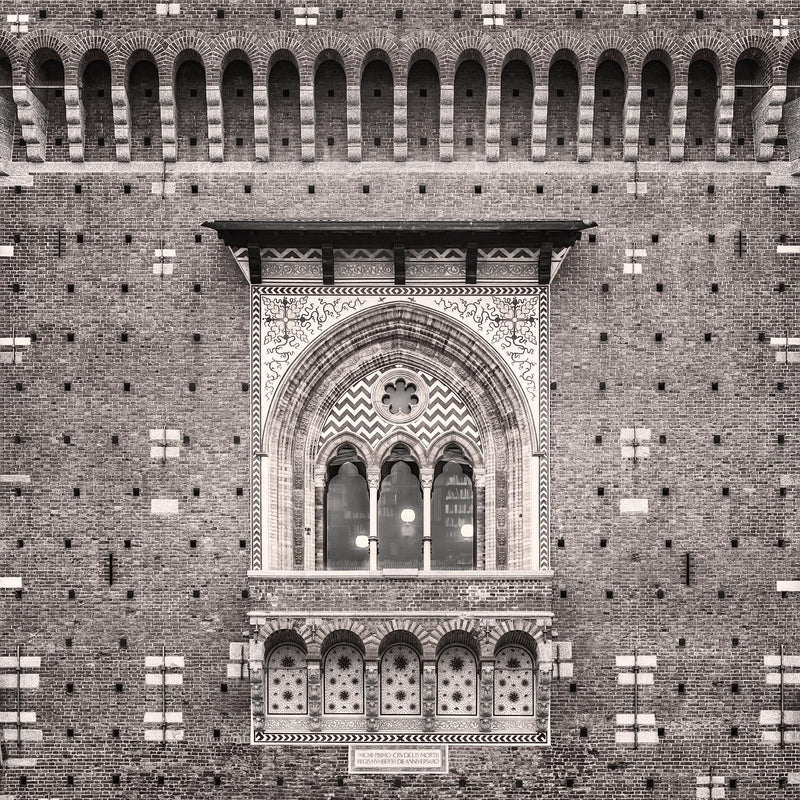 Castello Sforzesco in Milan - Igor Menaker Fine Art Photography