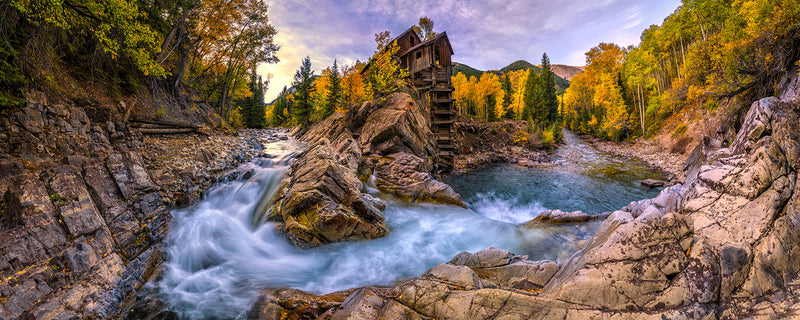 Crystal Mill at Dawn - Igor Menaker Fine Art Photography