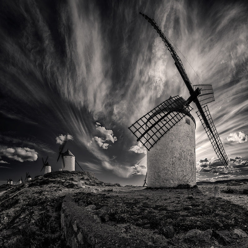Don Quixote Windmills - Igor Menaker Fine Art Photography