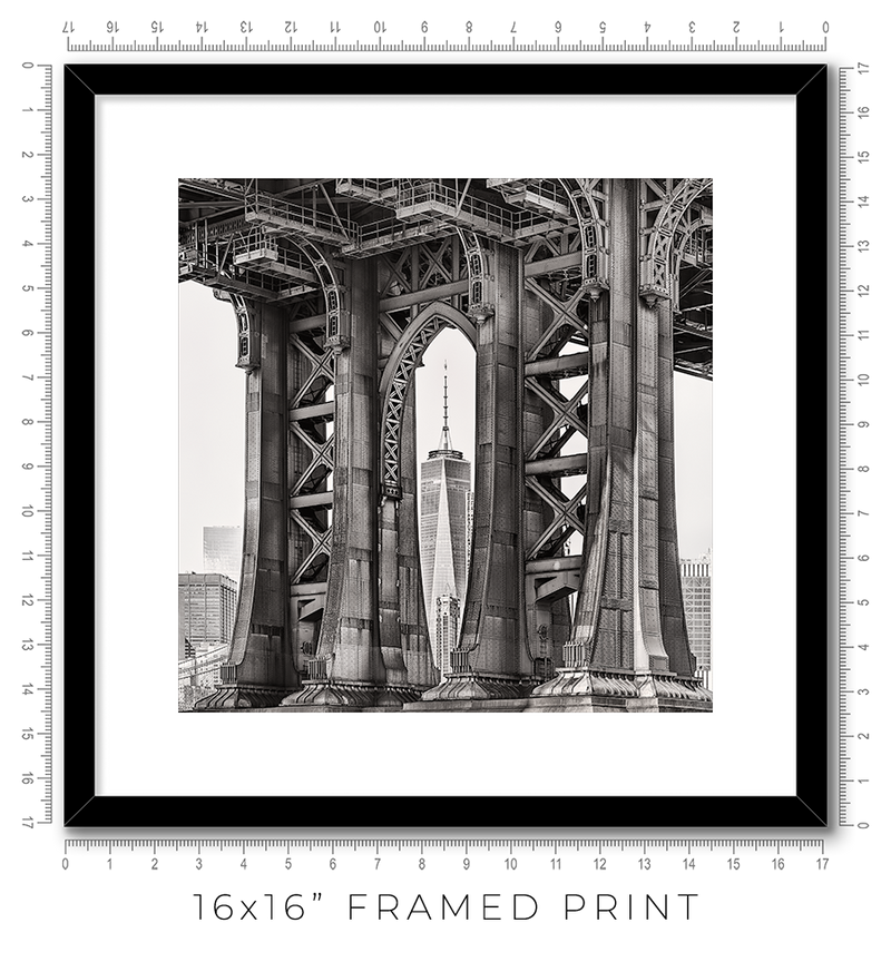 Manhattan Bridge - Igor Menaker Fine Art Photography