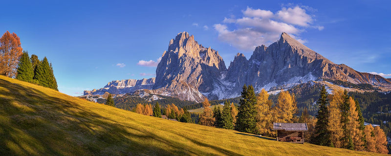 Plattkofel at Alpe di Siusi in Dolimites - Igor Menaker Fine Art Photography