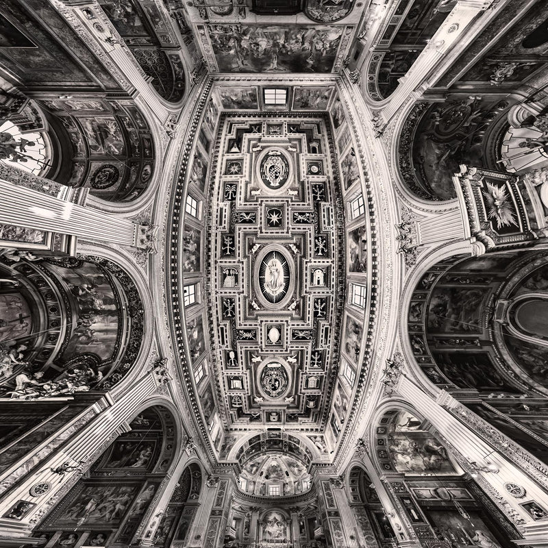 San Marcello al Corso in Rome - Igor Menaker Fine Art Photography
