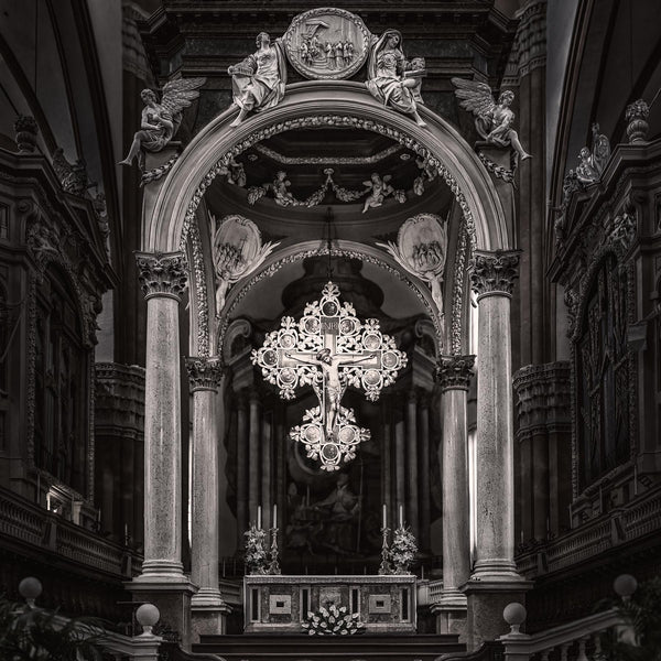 San Petronio Cross - Igor Menaker Fine Art Photography
