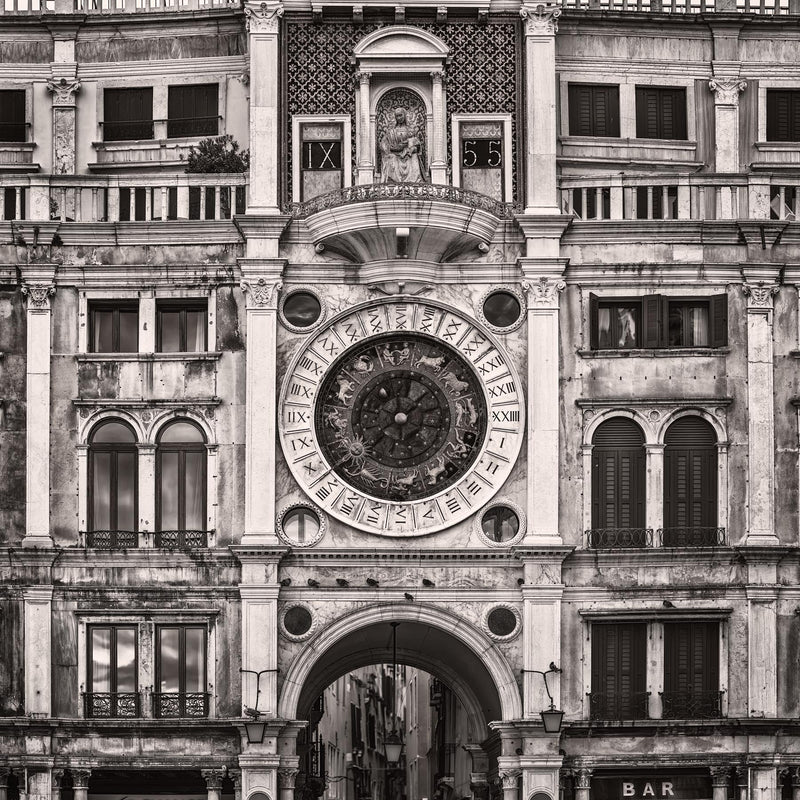 St Mark Clocktower in Venice - Igor Menaker Fine Art Photography