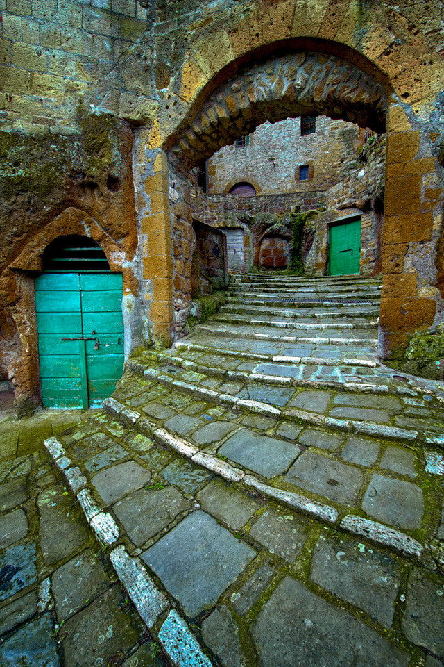 Streets of Pitigliano - Igor Menaker Fine Art Photography