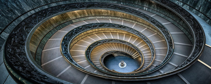 Vatican Stairs - Igor Menaker Fine Art Photography