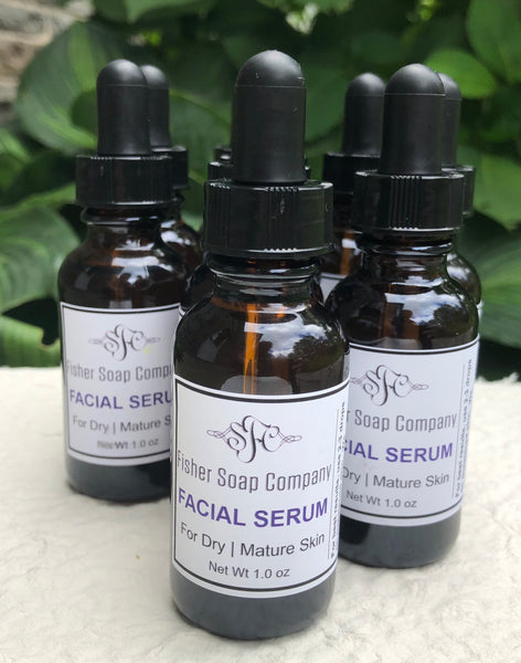 Facial Serum | Dry Mature Skin Facial Oil-serum - Fisher Soap Company, LLC