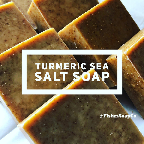 Turmeric Sea Salt Soap Salt soap - Fisher Soap Company, LLC