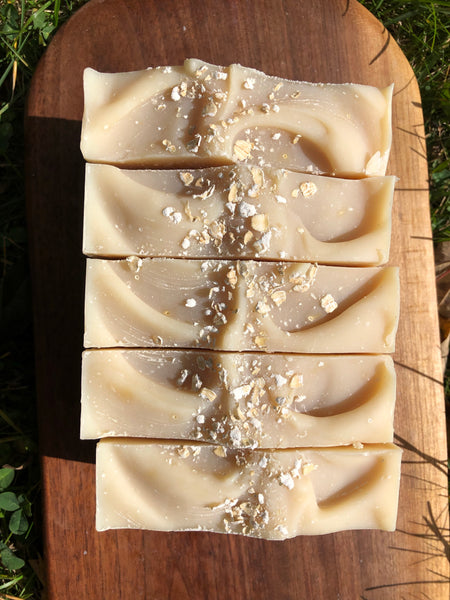 Honey & Oats Soap- With Goat Milk Soap - Fisher Soap Company, LLC