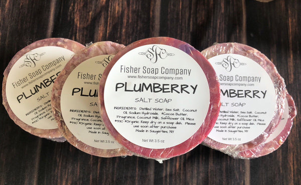 Plumberry Spice Soap-Seasonal Olfactory Delight Soap - Fisher Soap Company, LLC