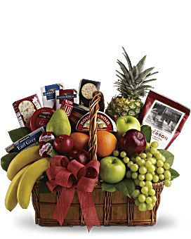 Custom Gourmet Gift Baskets