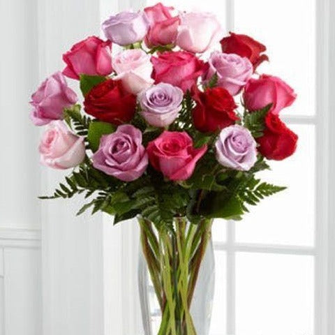 Cupid's Crystal Rose Arrangement