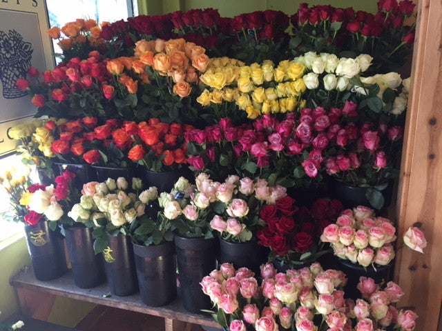 Welcome to Riley's Flowers We are located at 1106 Chapala Street, Santa Barbara, CA 93101 Book online or call us at 805-965-1187 Monday through Saturday 9am-6pm  * Subject to change
