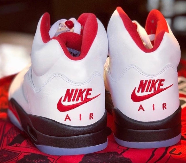 "Air Jordan 5 Retro GS ""Fire Red 3M"" NIKE AIR"