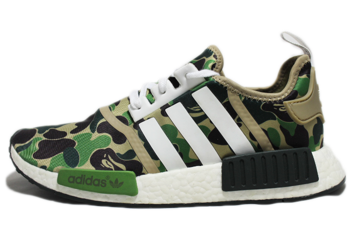 KICKCLUSIVE - Adidas for sale - NMD R1 Olive Camo - Bape Olive Camo - Adidas Olive Camo -1