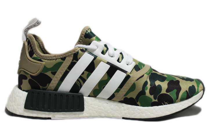 KICKCLUSIVE - Adidas for sale - NMD R1 Olive Camo - Bape Olive Camo - Adidas Olive Camo -3