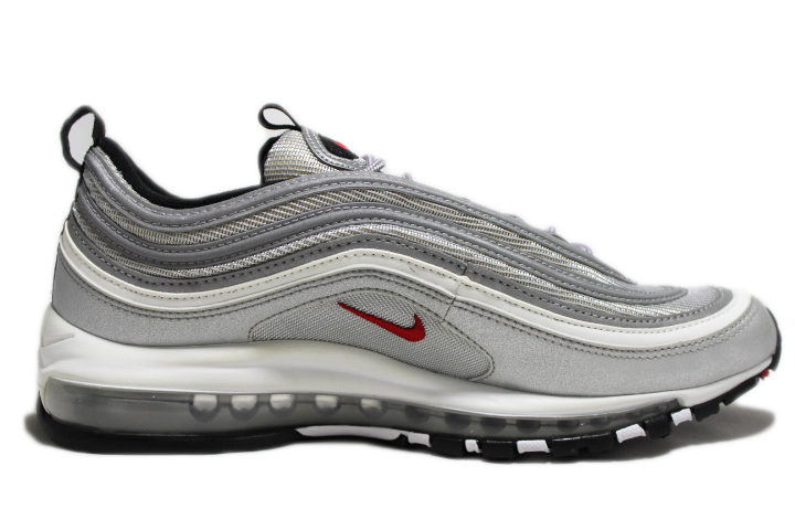 KICKCLUSIVE-Air Max 97 For Sale - AM 97 Metallic Silver -97-Metallic Silver-Metallic Silver Air Maxes-Ninety Seven Air Maxes- AM97 Metallic Silver - Metallic Silver 97 For Sale -3