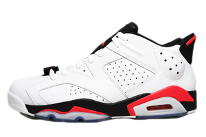 "Air Jordan 6 Retro Low ""Infrared White"""