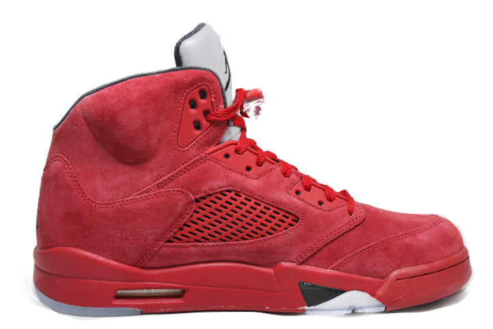 Air Jordan 5 Retro Red Suede- Red Suede 5- Jordan 5 Red Suede- Retro 5-Red Suede 5s -Jordan 5 for sell- Jordan 5 for Sale- AJ5-  Red Suede Fives-Red Suede Jordan 5- Red Suede Jordans