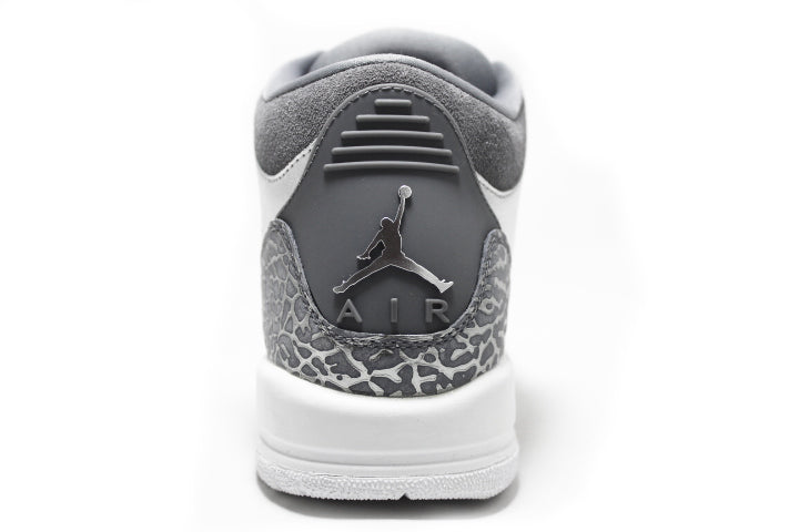 KICKCLUSIVE - Air Jordan 3 Retro Metallic Silver  -Air Jordan 3 Retro Metallic Silver-  Metallic Silver 3- Jordan 3 Metallic Silver - Retro 3 -Metallic Silver 3s -Jordan 3 for sell- Jordan 3 for Sale- AJ3-  Metallic Silver Jordan Threes-Metallic Silver Jordan 3-  Metallic Silver Jordans - GS AJ3 - AJ3 Metallic Silver GS-4
