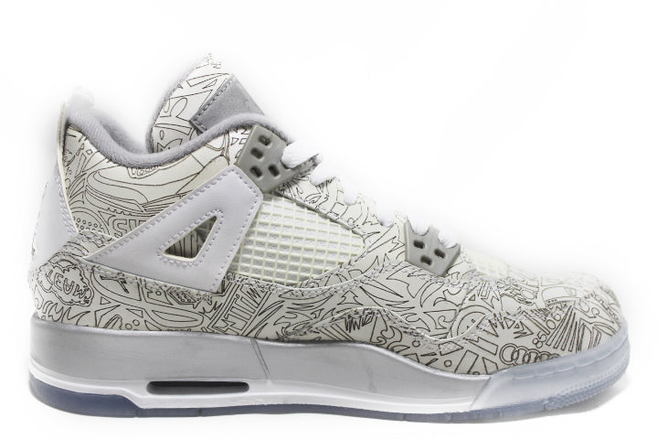 KICKCLUSIVE - Air Jordan 4 Retro Anniversary Laser -Air Jordan 4 Retro Anniversary Laser-Anniversary Laser 4- Jordan 4 Anniversary Laser -Retro 4- Anniversary Laser 4s -Jordan 4 for sell- Jordan 4 for Sale- AJ4- Anniversary Laser Jordan Fours- Anniversary Laser Jordan 4- Anniversary Laser Jordans - GS Laser - AJ4 Laser GS - Gs AJ4-3