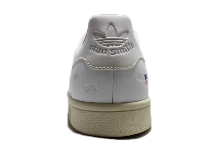 "RAF Simmons x Adidas Stan Smith ""Comfort Badge"" Cream"