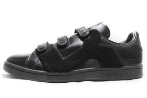 "RAF Simmons x Adidas Stan Smith ""Comfort Badge"" BLACK"