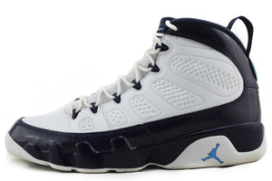 "Air Jordan 9 Retro ""UNC Blue"" Size 10.5 PRE-OWNED*"
