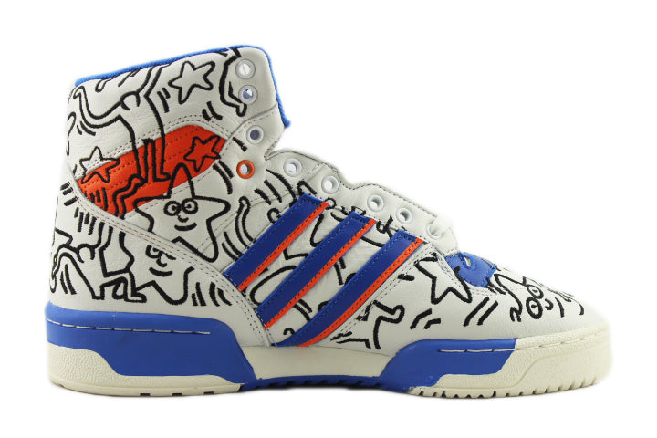 Keith Haring x Adidas Rivalry HI