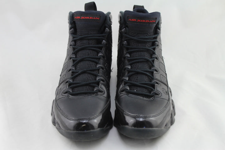 "Air Jordan 9 Retro ""Bred Patent Leather"" Size 9 PRE-OWNED*"