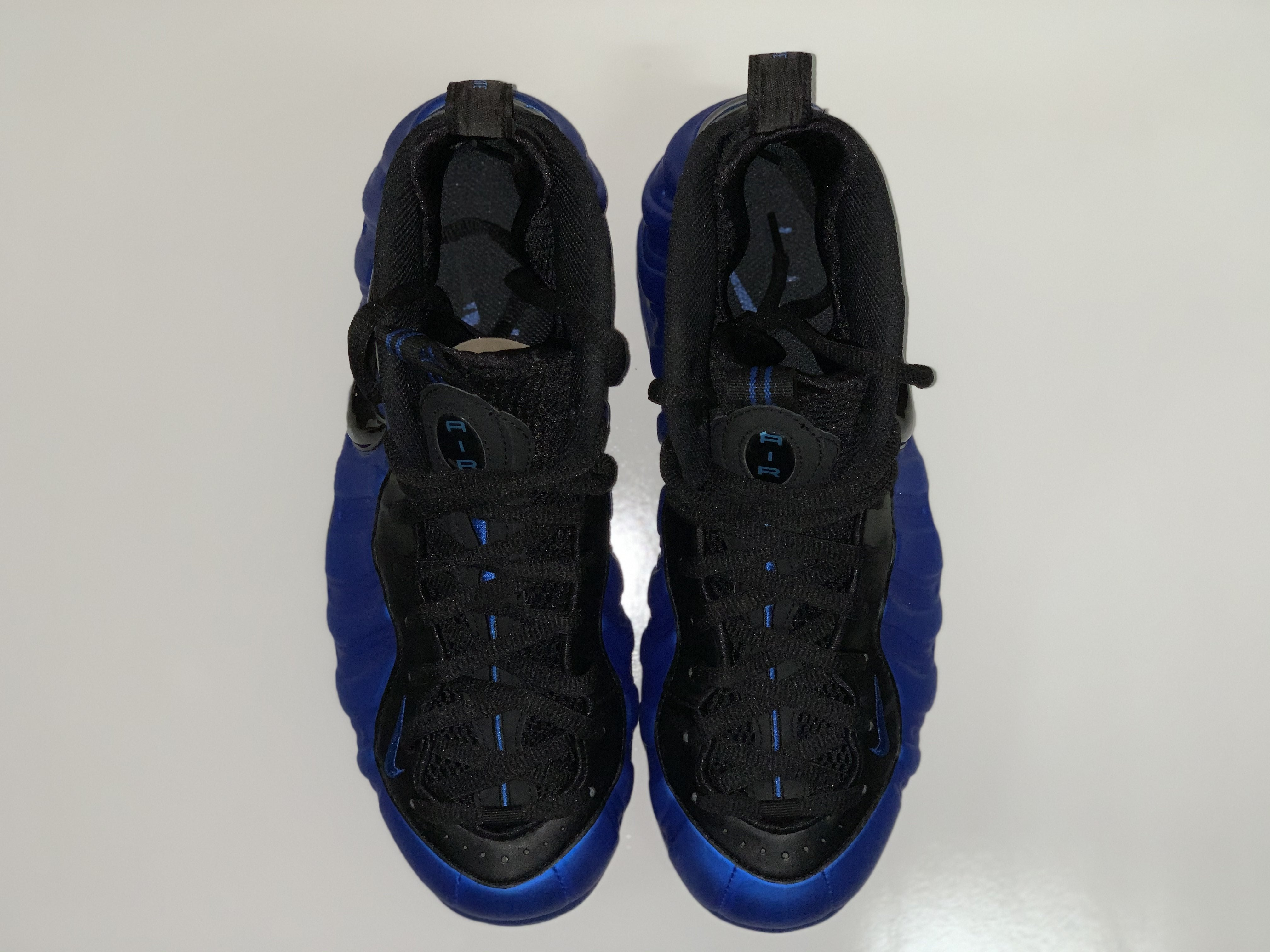 NIKE BLUE Foamposite *PRE-OWNED*