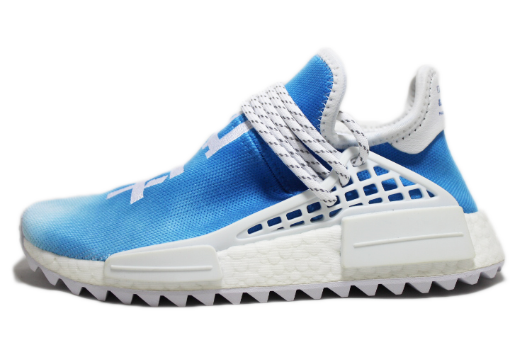 "brand new 2fcba 59cff Pharrell x Adidas NMD HU China Pack ""Peace"" BLUE"