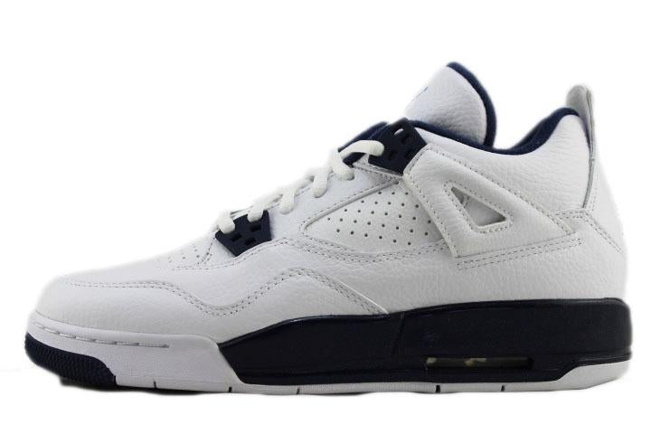 "Air Jordan 4 Retro GS ""Legend Blue"" (*No Box)"