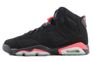 "Air Jordan 6 Retro GS ""Infrared"" BLACK 2012 (*No Box)"