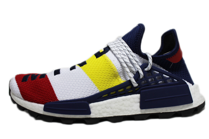 "best service e08a8 c0de9 Billionaire Boys Club x Pharrell x Adidas NMD HU ""Multicolor"""