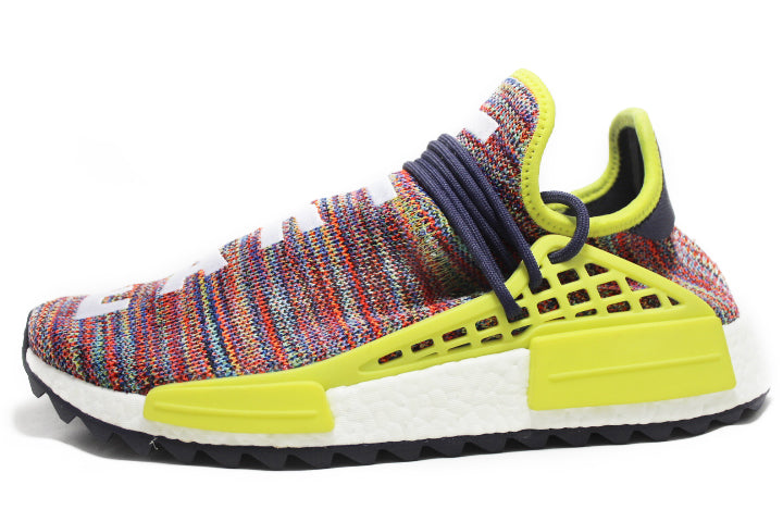 "huge discount 08d0f 8ae34 Pharrell x Adidas Human Race NMD ""Multi Color"""