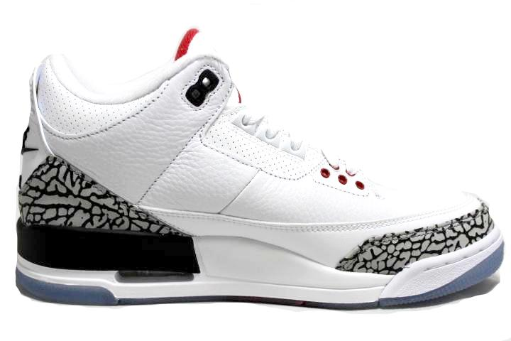 "Air Jordan 3 Retro ""Free Throw Line"""