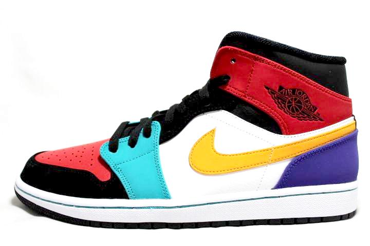 "Air Jordan 1 Retro Mid ""Bred Multicolor"""