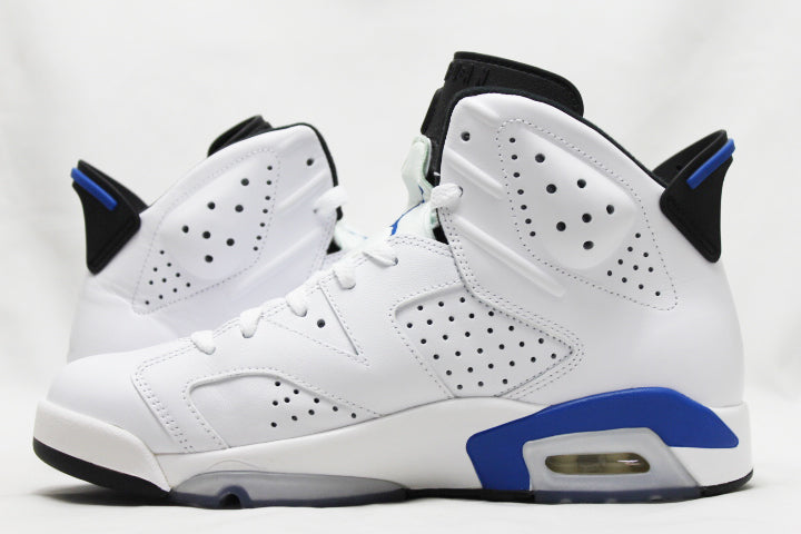 "Air Jordan 6 Retro ""Sport Royal"" Size 8.5 PRE-OWNED*"