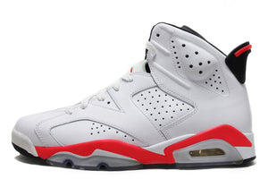 "Air Jordan 6 Retro ""Infrared White"" Size 8.5 PRE-OWNED*"